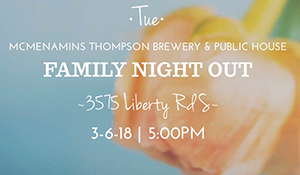 McMenamins Family Night Out announcement